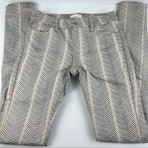 Witchery Snakeskin Feel and Look Jeans - Size 6
